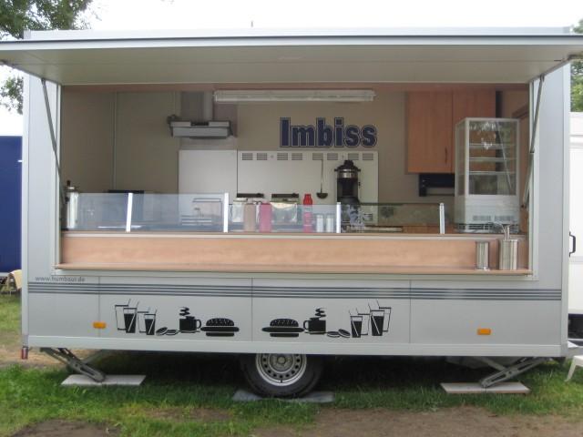 verkaufshänger, imbisswagen und verkaufsfahrzeuge in  ~ Kühlschrank Berlin Gebraucht