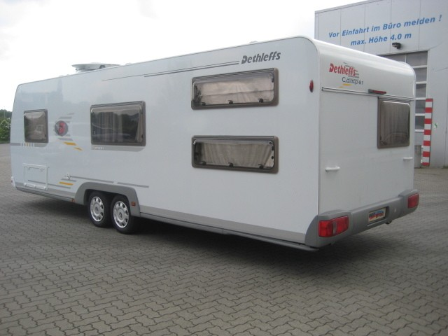 dethleffs wohnwagen mk750 klima wi.paket+ advantag de luxe in