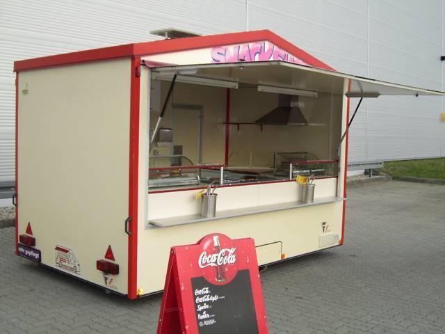 verkaufsanhänger gamo imbiss grill friteuse bräter  ~ Kühlschrank Berlin Gebraucht