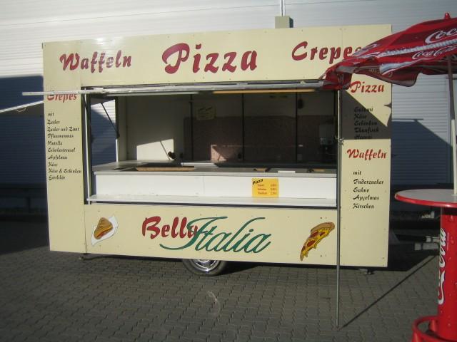 tabbert pizza imbiss verkaufsanh nger 2 x verkaufs. Black Bedroom Furniture Sets. Home Design Ideas