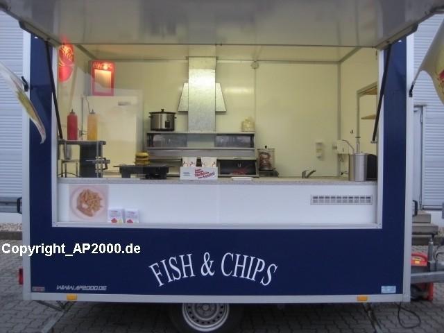 verkaufsanh nger fish and chips imbiss exklusiv. Black Bedroom Furniture Sets. Home Design Ideas